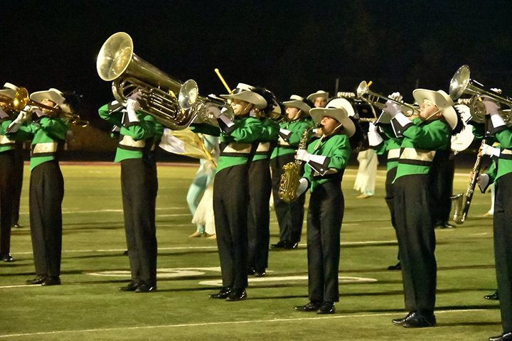 "The ZCHS Marching Eagles perform its title-winning show, ""Into the Light."" (Submitted photo)"