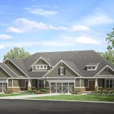 Hoosier Village is building 75 duplexes as part of a $45 million expansion called The Oaks. (Submitted photo)