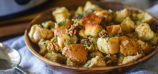 Slow cooker sausage stuffing. (Submitted photo)
