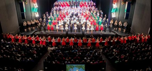 The Carmel High School choirs during the 2015 Holiday Spectacular. (Submitted photo)
