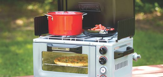 The Coleman Portable Stove Oven Combo could make a good gift for a tailgater. (Submitted photo)