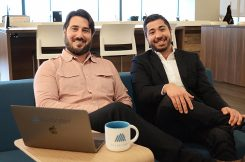 """Todd Richardson (left) and Santiago Jaramillo have co-authored """"Agile Engagement."""" (Submitted Photo)"""