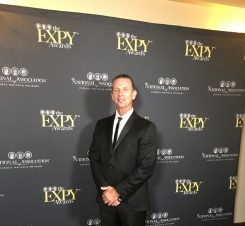 """Rodney Jones received the Quilly and EXPY awards in Hollywood and was selected as a producer for """"Soul for Success."""" (Submitted photo)"""