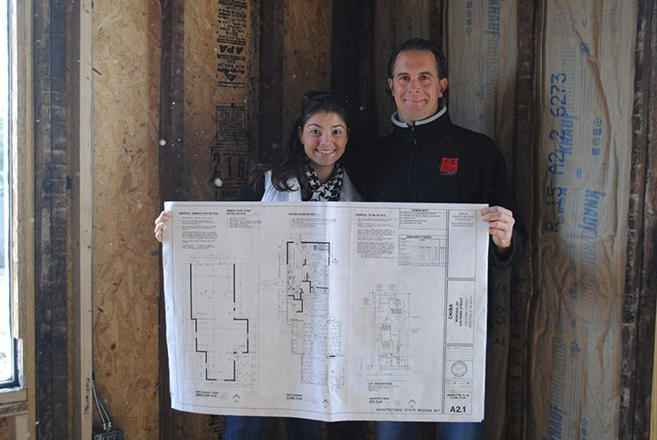 Keith Dusko will open the second Chiba in February. Pictured, Nicole Shackelford and Keith Dusko. (Photo by Anna Skinner)