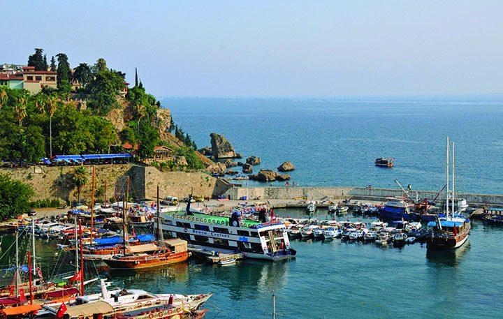 Yacht Harbor in Antalya, Turkey (Photo by Don Knebel)