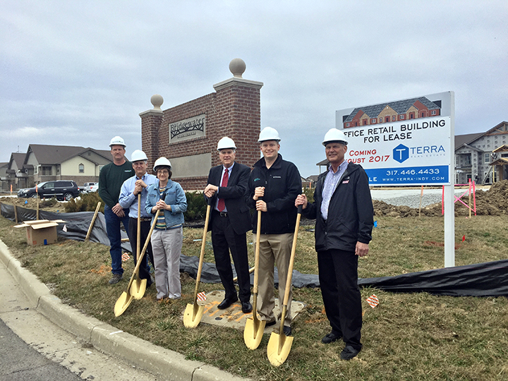 Snapshot professional building at bridgewater breaks ground for Construction local commercial