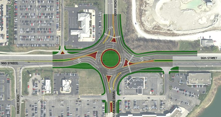 96th St Roundabouts Exhibit-