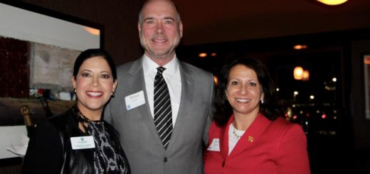 Fishers City Council Cecilia Coble with HCRP guest speaker Brian Bosma (Indianapolis) and HCRP Chairwoman Laura Campbell (Carmel) (Photos by Amy Pauszek)