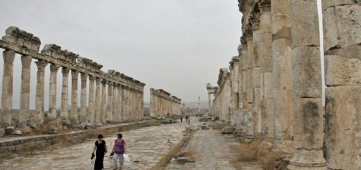 Cardo Maximus in Apamea, Syria (Photo by Don Knebel)
