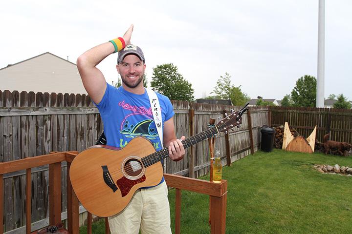 Passionate Parrothead: Westfield resident Ryan Berner