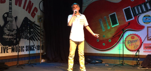 Maddux Morrison during the CMA Showcase in Franklin, Tenn., a suburb of Nashville. (Submitted photo)