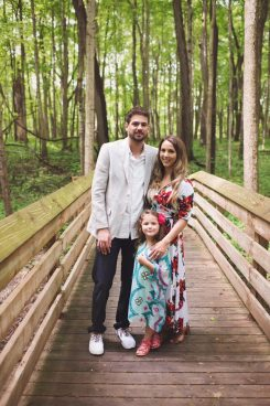 Grant Tribbett proposed to both his girlfriend Cassandra Reschar and her daughter, 5-year-old Adrianna. (Submitted photo)