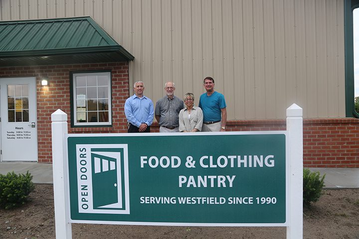 Stocking shelves: Food pantry launches new facility, holds open