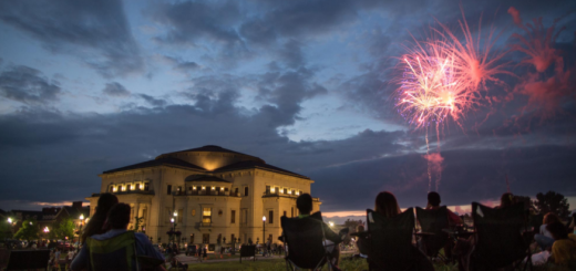 The fireworks show can be viewed near The Palladium and other sites in Carmel. (Submitted photo)
