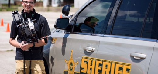 Ryan McClain is working Delaware County Sheriff's Dept. on the show. (Photo provided by Joe Krupa)
