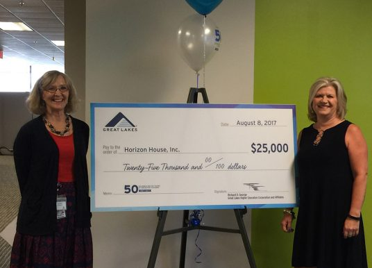 Snapshot: Great Lakes donates $50,000 to nonprofits