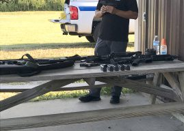 Citizens' Academy participants learn about and have opportunity to fire police weapons