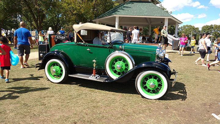Zionsville Fall Festival Car Show