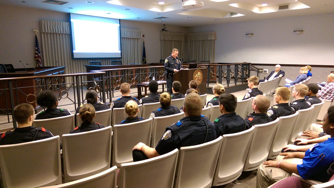 Policing at the Post: LPD Explorer Post serves as largest