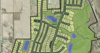 A development including up to 360 homes and mixed uses on 10 to 12 acres has been proposed on the 235-acre site of the Wolf Run Golf Club. (Submitted photo)
