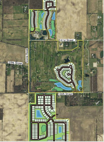 The Westchester planned unit development encompasses approximately 309 acres and is capped at 340 houses. It was approved by council, 5-2, at the Jan. 8 meeting. (Submitted image)