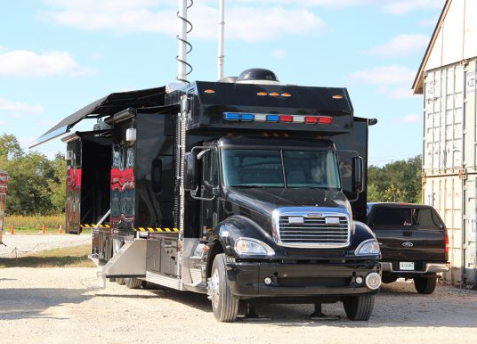 City to obtain mobile command center from county