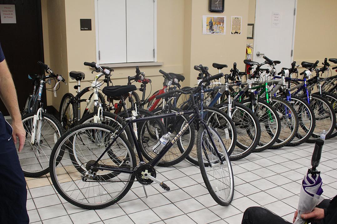 Cornerstone Lutheran Church in Carmel donates bikes to