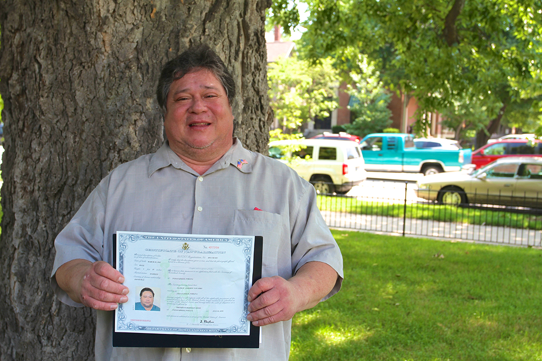 Becoming A Citizen Lawrence Man Shares Experience As One Of 96 To