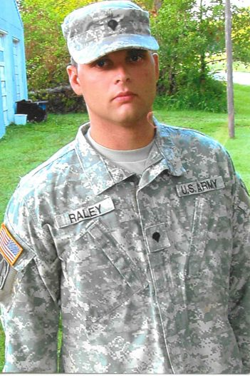 Ricky Raley joined the Indiana Army National Guard in 2004 and suffered a serious brain injury during a 2008 tour in Iraq.