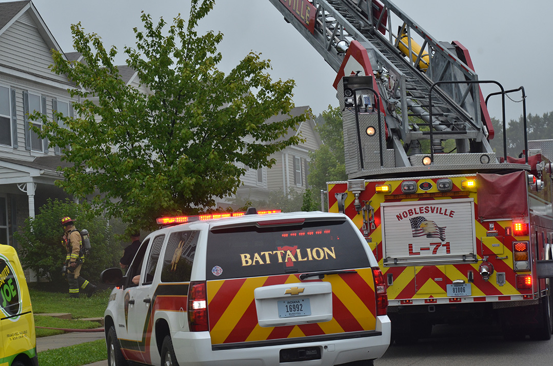 NFD battles fire in Cumberland Pointe subdivision | Current Publishing