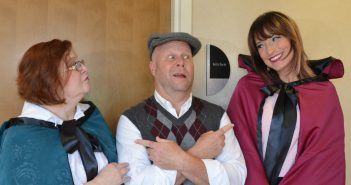 From left, Denise Fort, Tim Moore and Gina Atwood. (Photo by Charles Hanover).