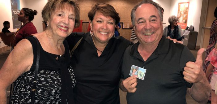 "Marilyn Goeke (Carmel), Lynda Goeke (Carmel) and Don Katz (Carmel) gave the film ""Grateful"" a thumbs-up on closing night."