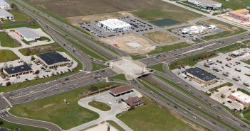 When construction on Ind. 37 is complete, 146th Street will be a single-point, at-grade interchange. (Submitted rendering)