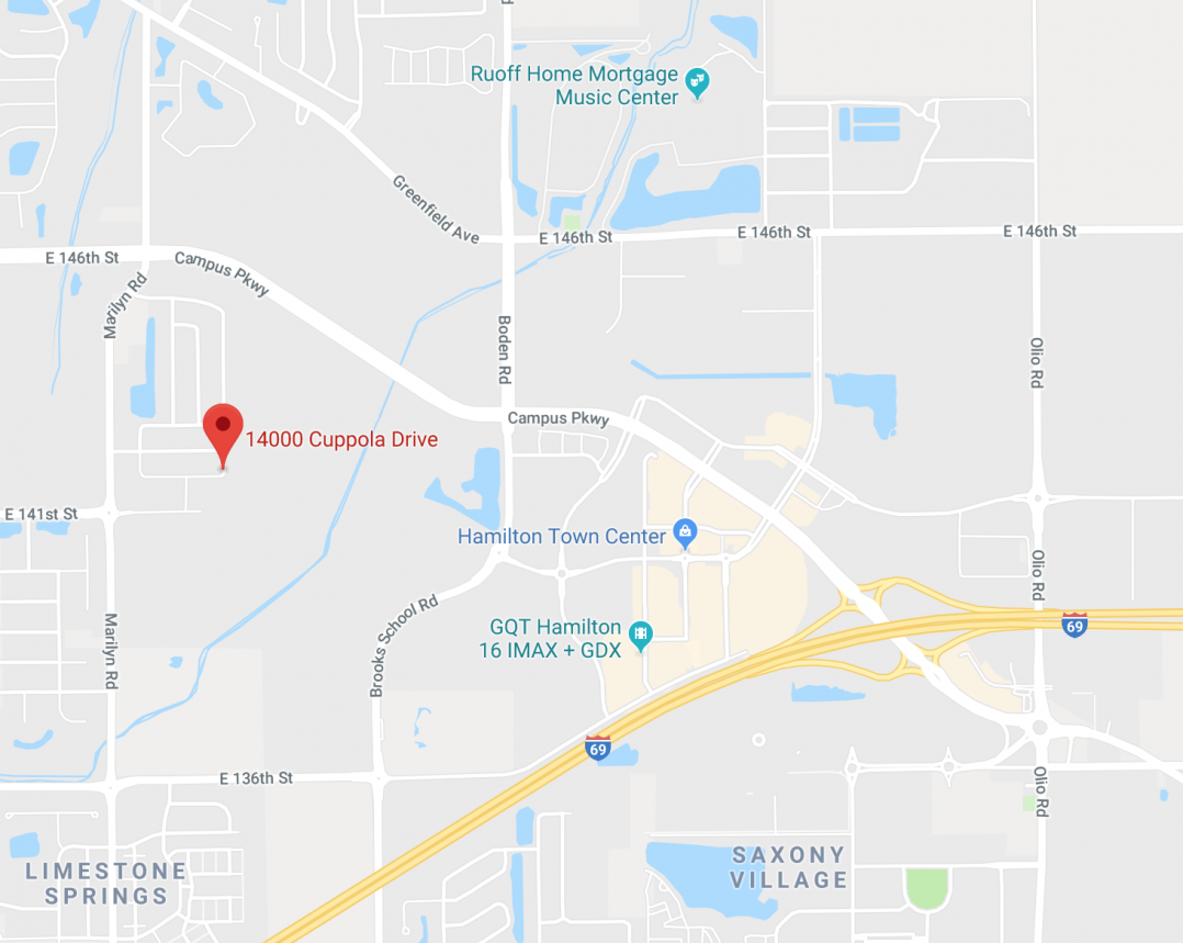 Police said the alleged shots were fired in the 14000 block of Cuppola Drive in southeast Noblesville, just south of 146th Street off of Marilyn Road.