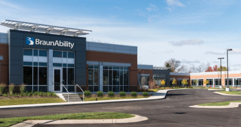 BraunAbility will lease 18,000 square feet of office space at the Lakeside Green Business Center. (Submitted rendering)