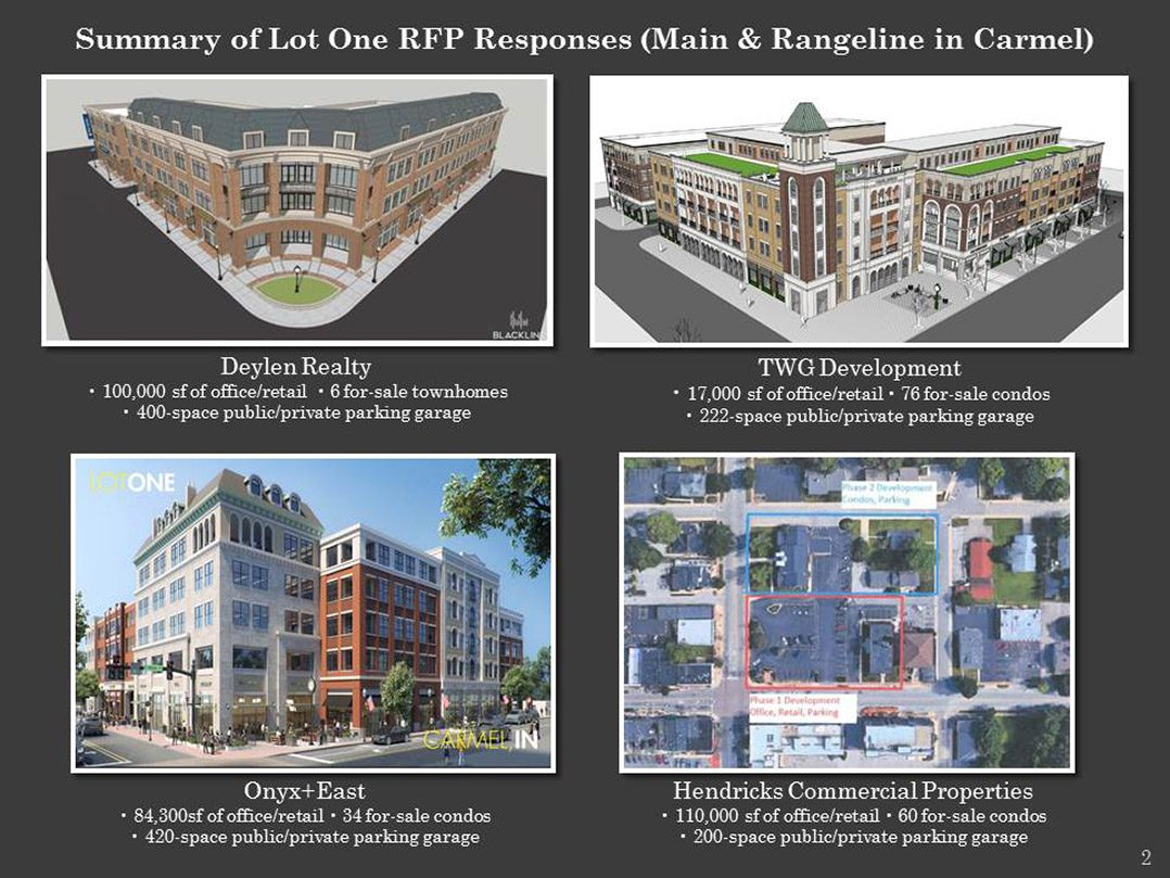 CRC expects to make recommendation for Lot One by June 1