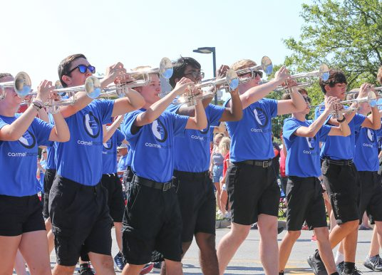 Carmel High School Marching Band to participate in 2022 Macy's Thanksgiving Day Parade