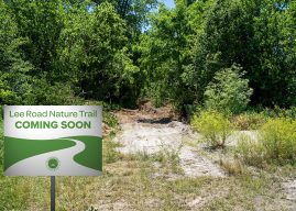 Lawrence to build trail at Lee Road Park