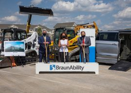 Snapshot: BraunAbility breaks ground on innovation lab