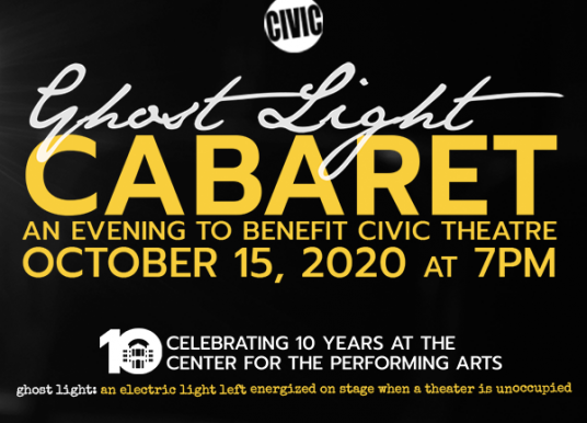 Ghost Light Cabaret to benefit Civic Theatre