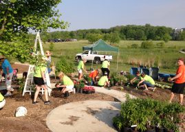 IU Health North, Saxony volunteers still conduct Day of Service activities