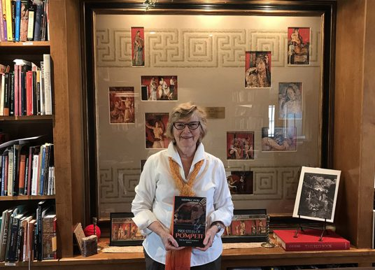 Carmel resident's passion for art led to novel on Pompeii