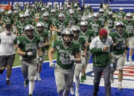 Soaring higher: Positive attitude adjustment helps Eagles land in state final