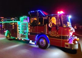 Santa Claus to tour Carmel neighborhoods in firetruck