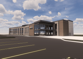 Construction begins on Crew Carwash headquarters in Fishers