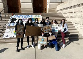 Carmel High School students join group aiming to address statewide climate issues