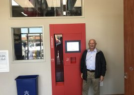 Experience the future of dry cleaning at Fishers shop