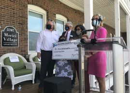 Lt. Gov. Crouch presents $200K check to The Village of Merici