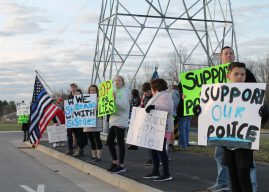 Reassigned school resource officer, supporters seek answers