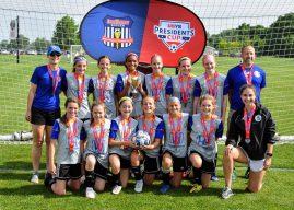 Carmel FC 2009 Girls Gold Club wins state title